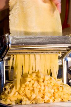 using a pasta maker
